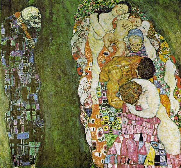 Klimt 'Death and Life'